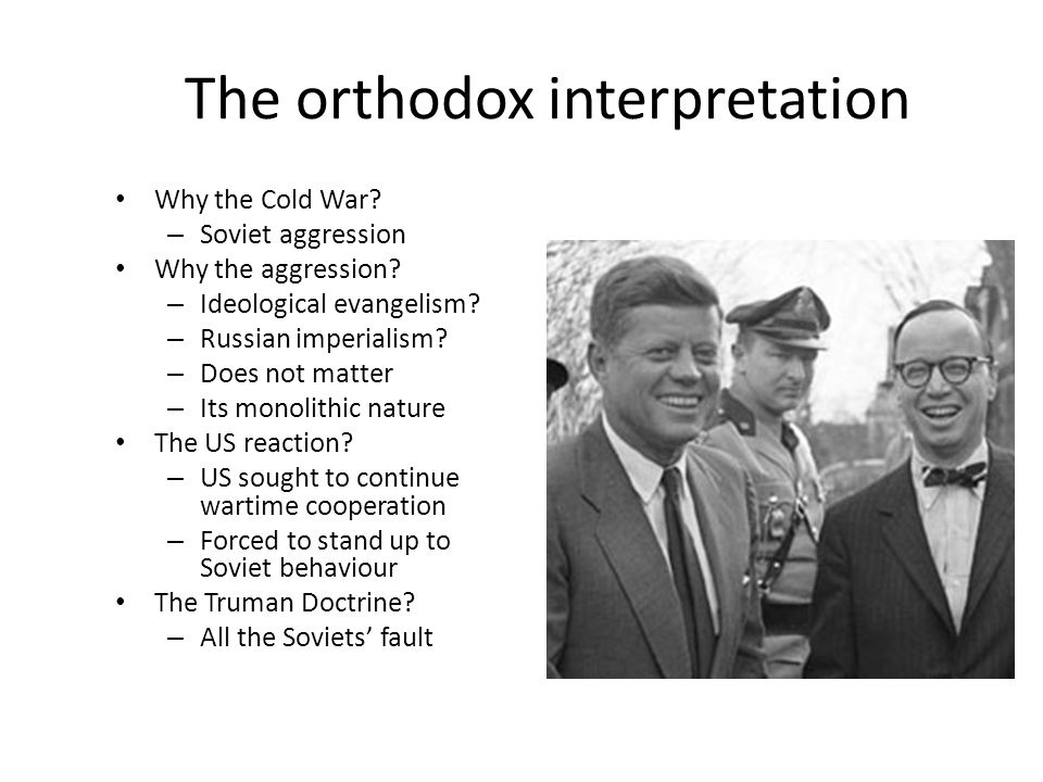 The orthodox interpretation