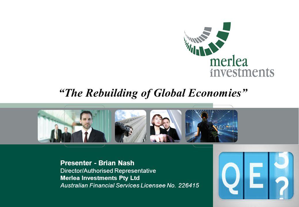 The Rebuilding of Global Economies