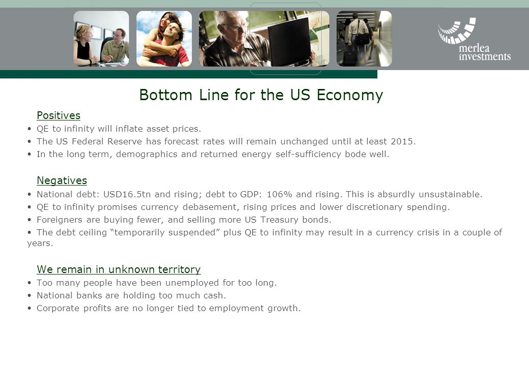 Bottom Line for the US Economy