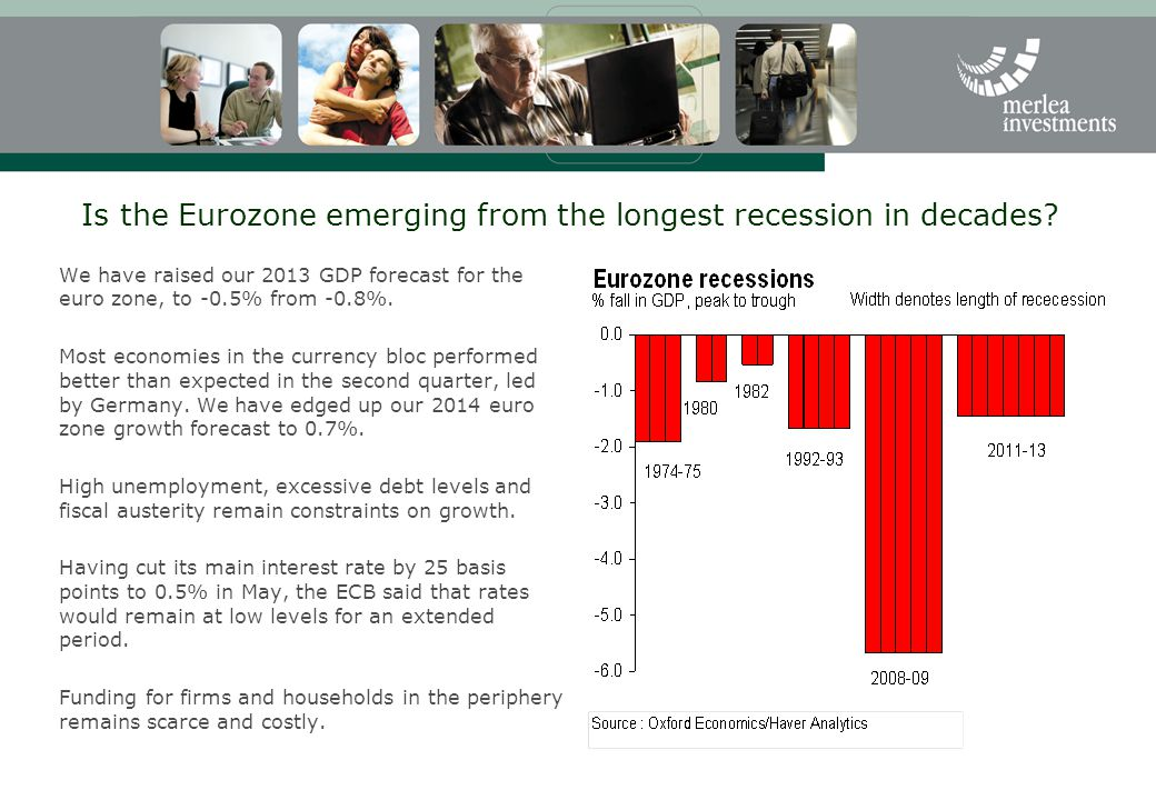 Is the Eurozone emerging from the longest recession in decades