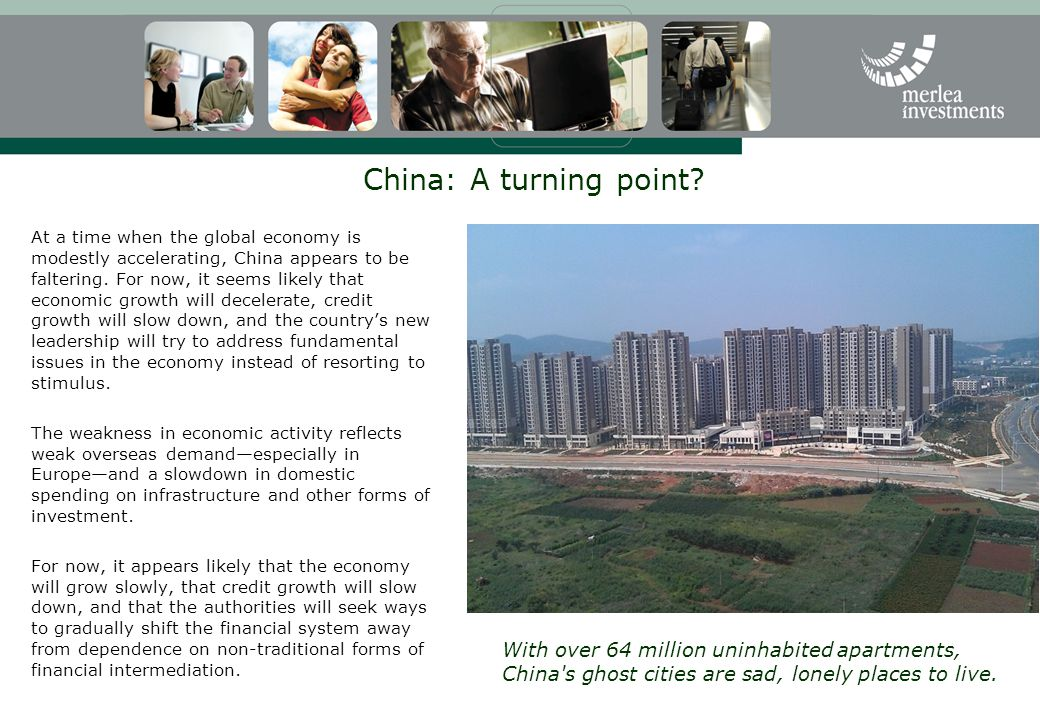 China: A turning point