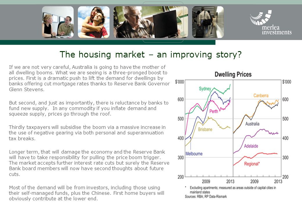The housing market – an improving story