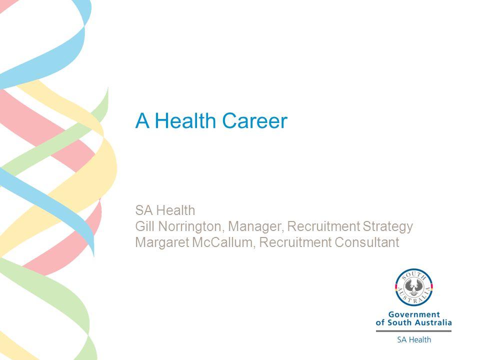 A Health Career SA Health
