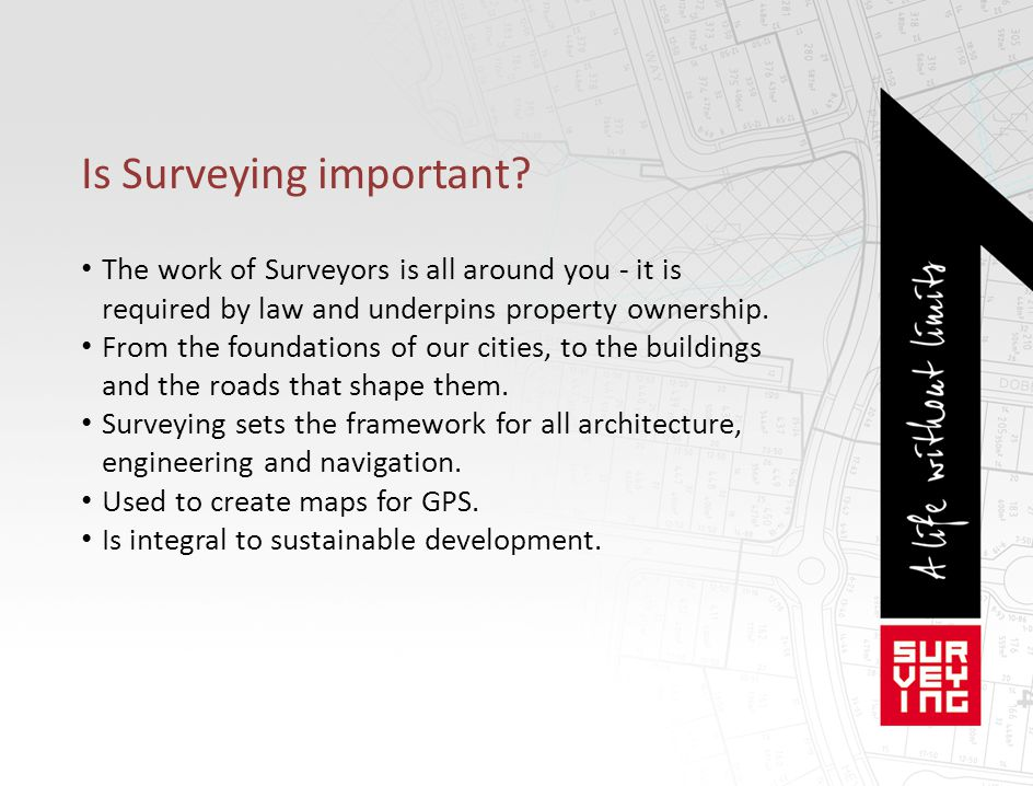 Is Surveying important