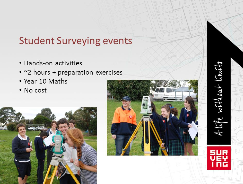 Student Surveying events