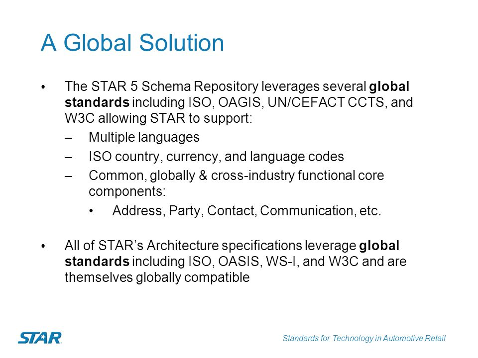 A Global Solution
