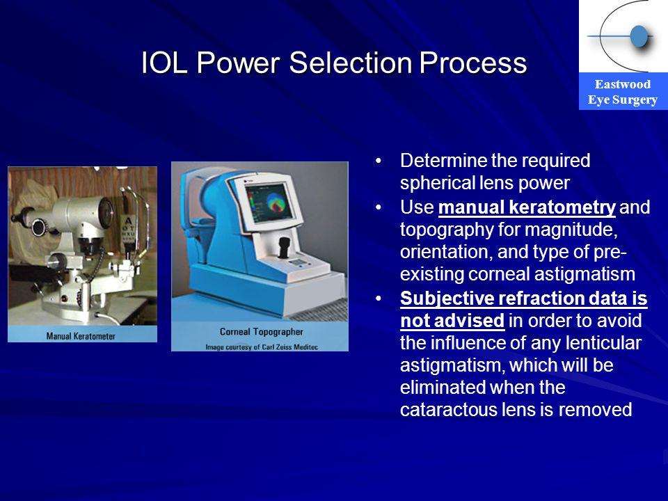 IOL Power Selection Process