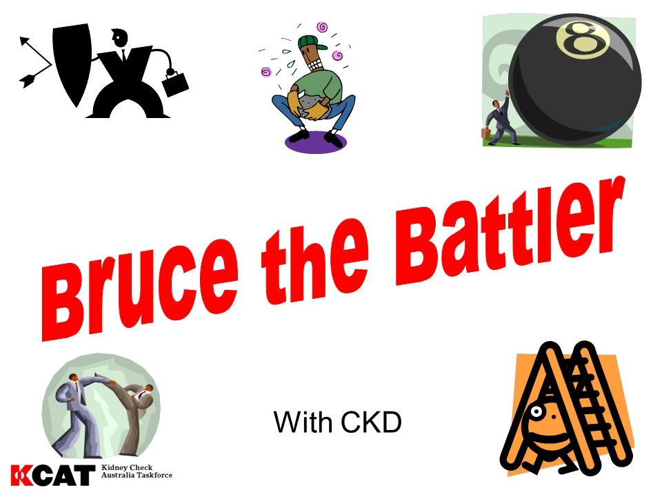 Bruce the Battler With CKD 12