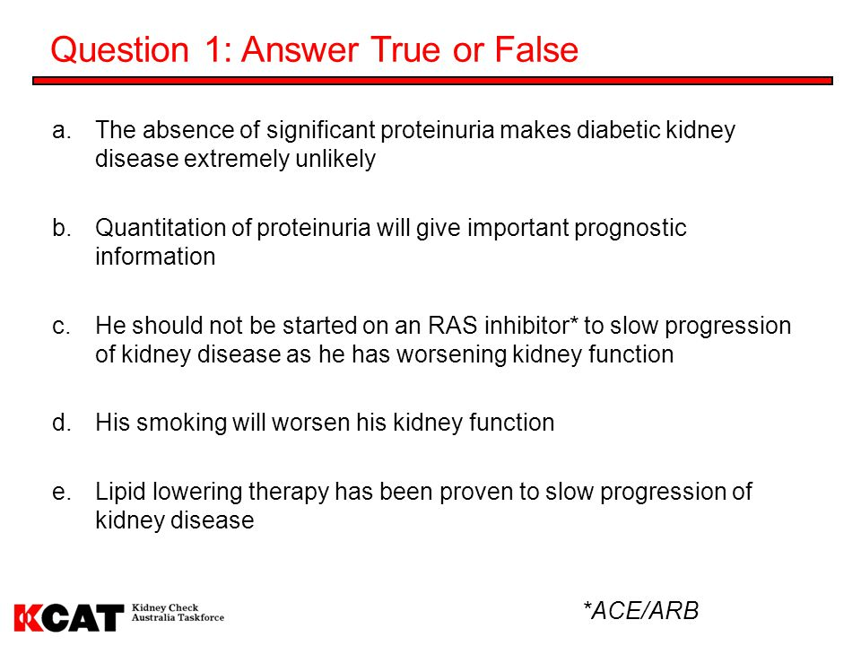Question 1: Answer True or False