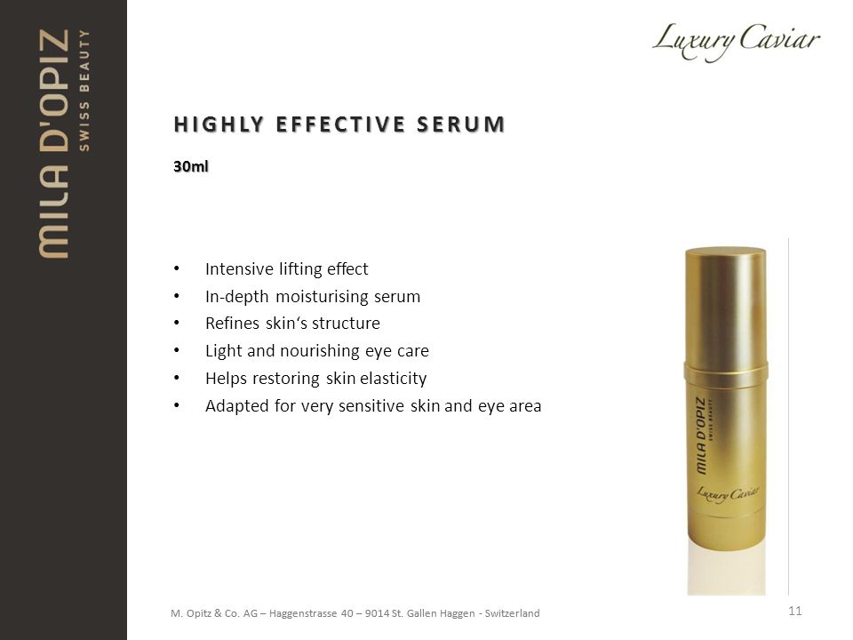 HIGHLY EFFECTIVE SERUM