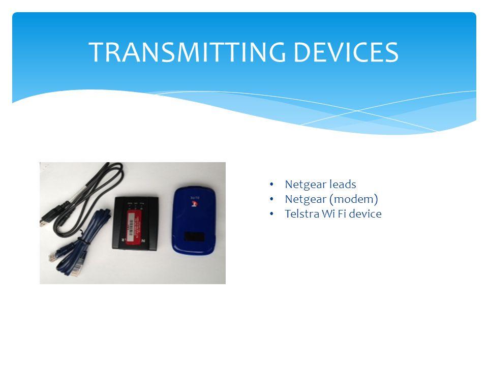TRANSMITTING DEVICES Netgear leads Netgear (modem)