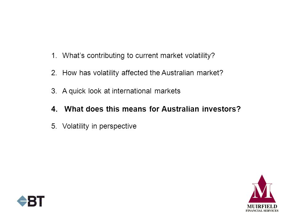 4. What does this means for Australian investors