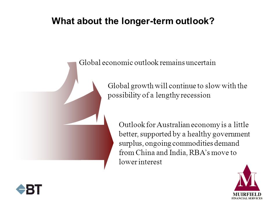 What about the longer-term outlook