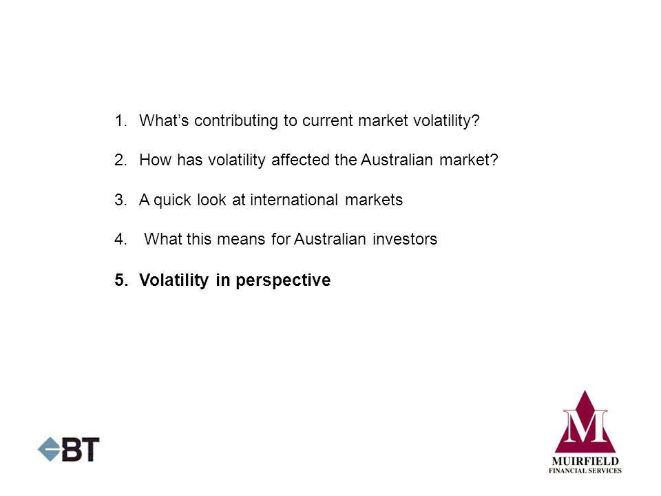 5. Volatility in perspective
