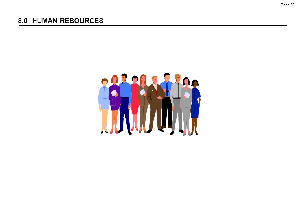 8.0 HUMAN RESOURCES 98