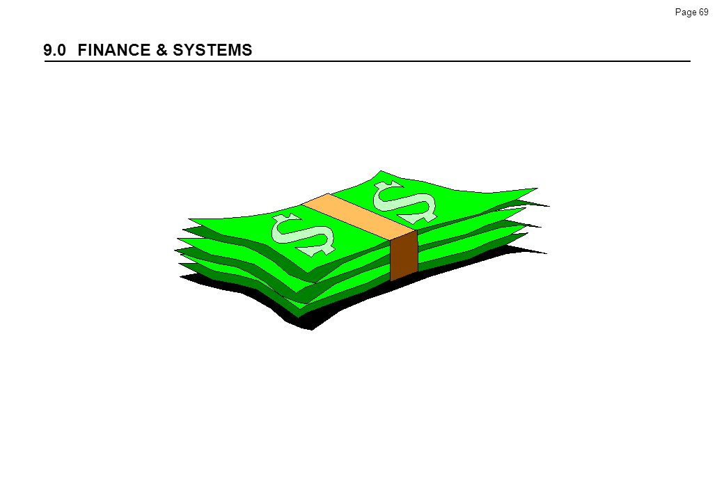 9.0 FINANCE & SYSTEMS 100