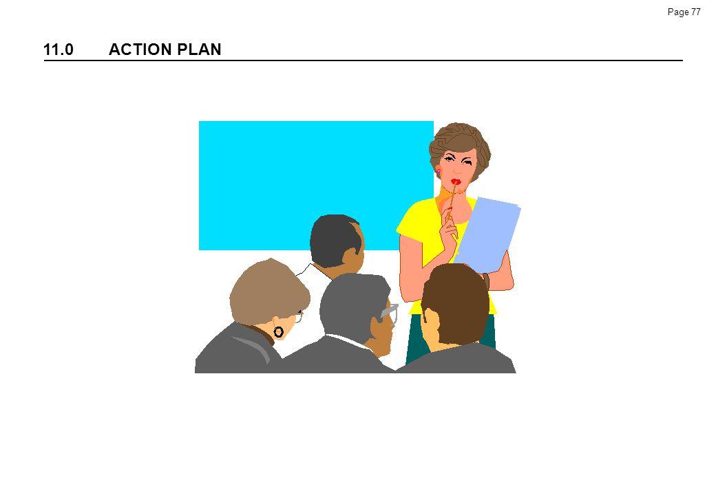 11.0 ACTION PLAN