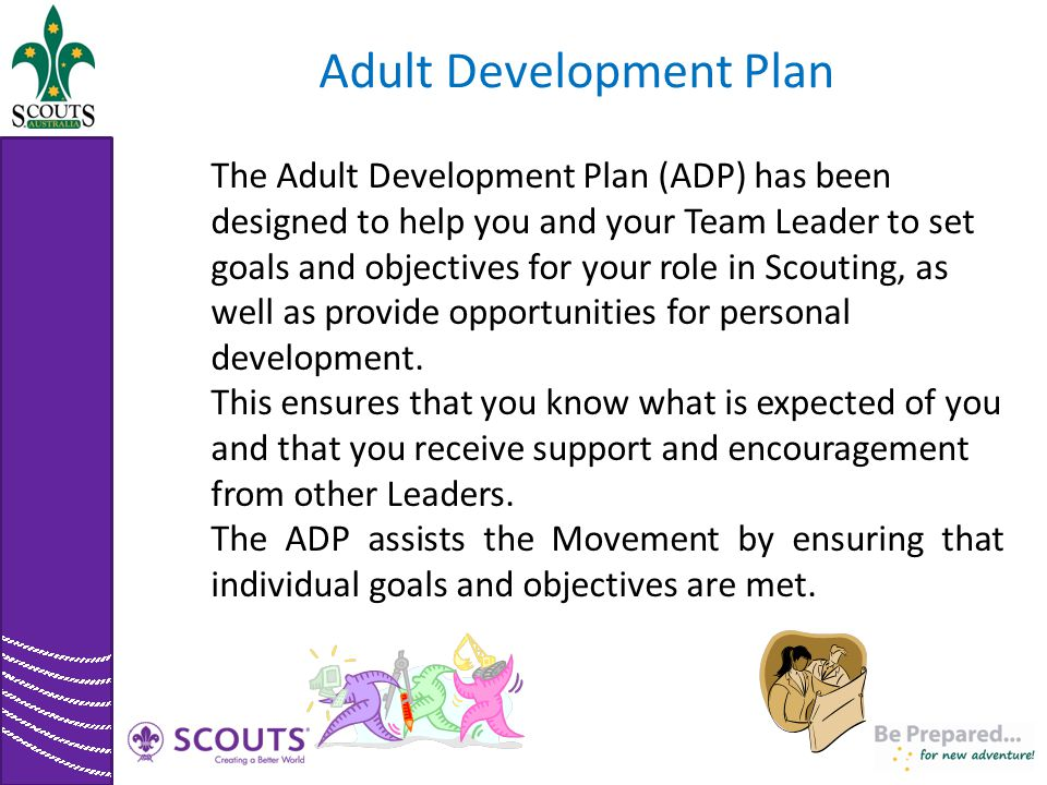 Adult Development Plan