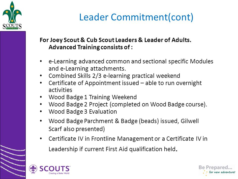 Leader Commitment(cont)