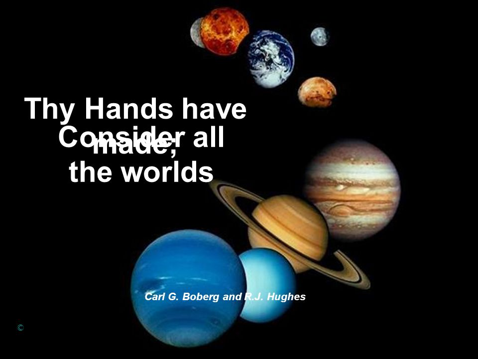 Consider all the worlds
