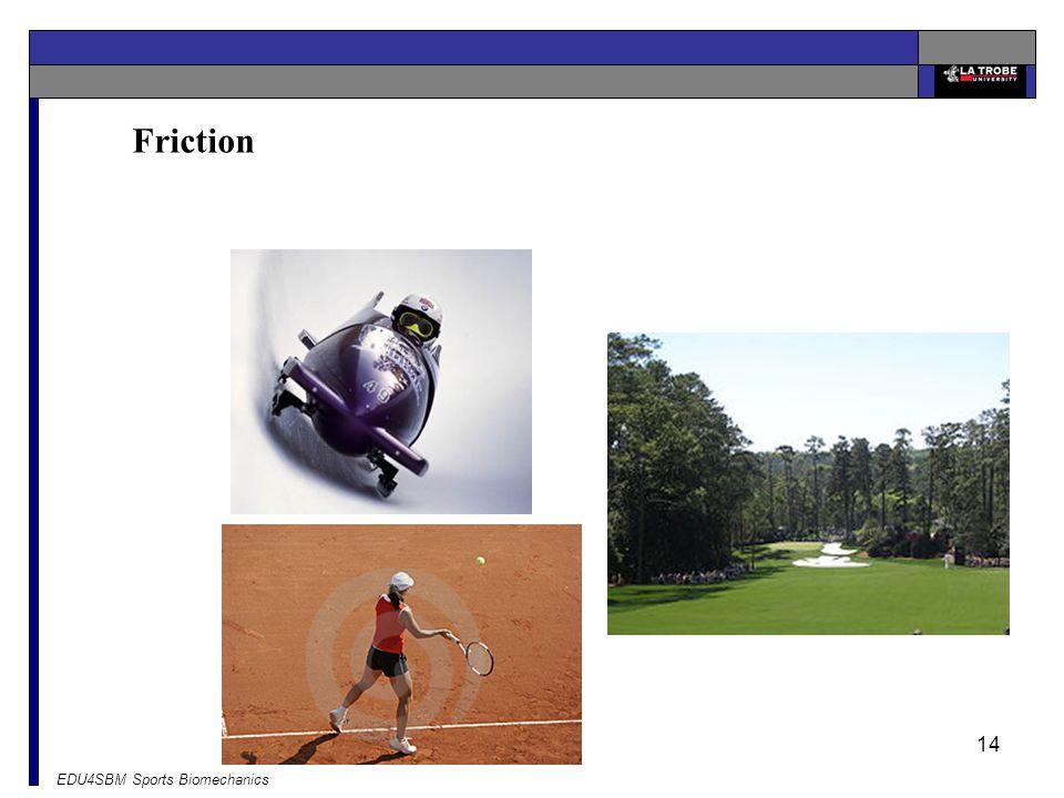 Friction EDU4SBM Sports Biomechanics