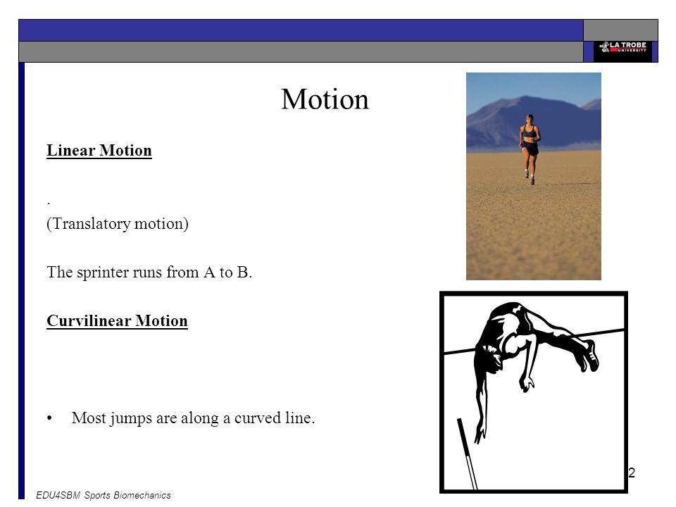 Motion Linear Motion . (Translatory motion)
