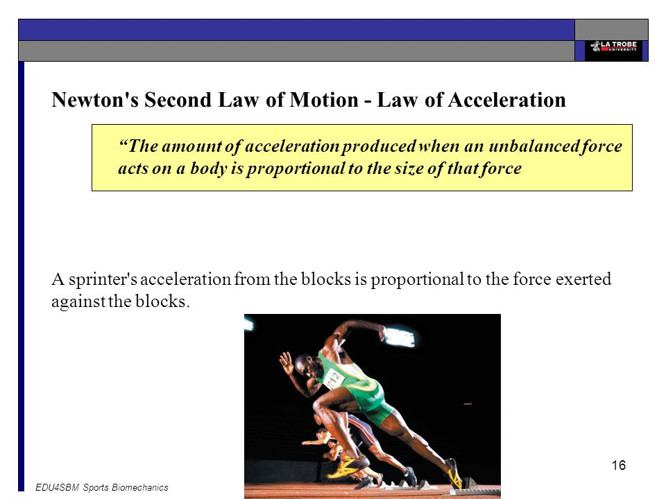 Newton s Second Law of Motion - Law of Acceleration