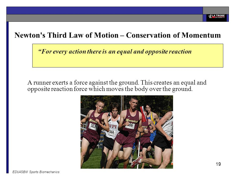 Newton s Third Law of Motion – Conservation of Momentum
