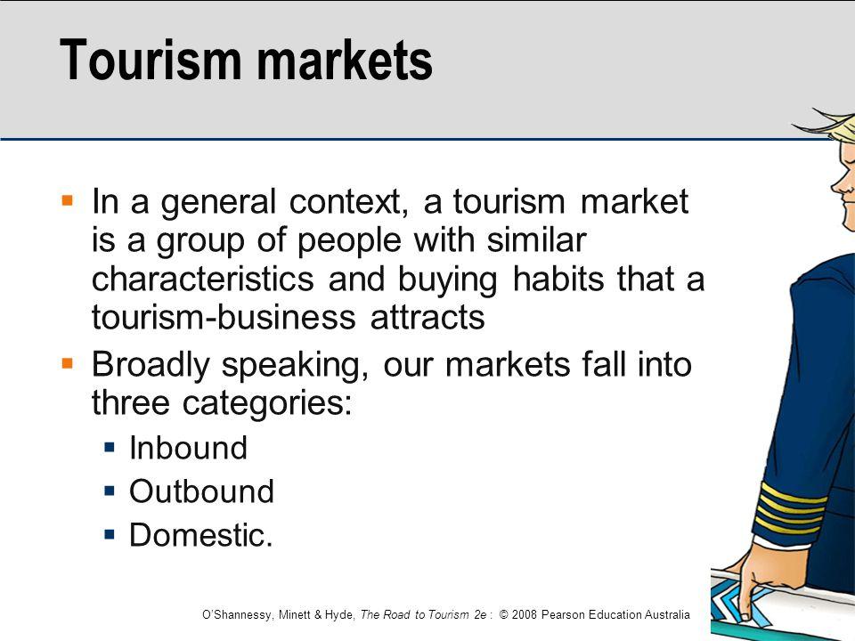 Tourism markets