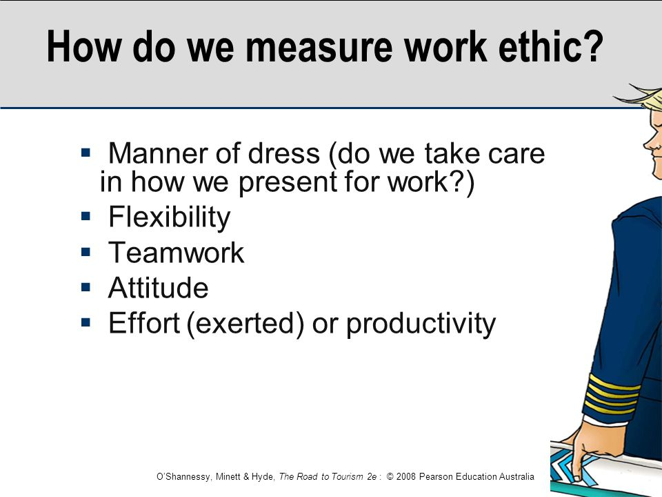 How do we measure work ethic