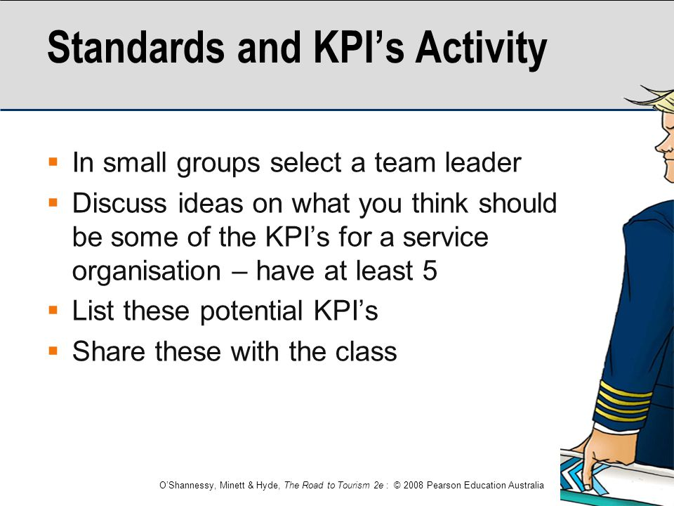 Standards and KPI's Activity