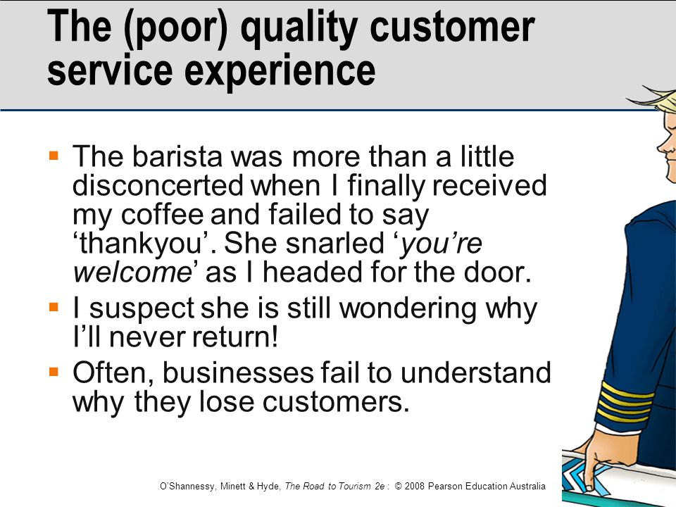 The (poor) quality customer service experience