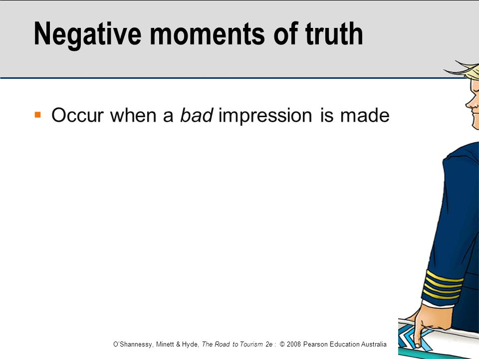 Negative moments of truth