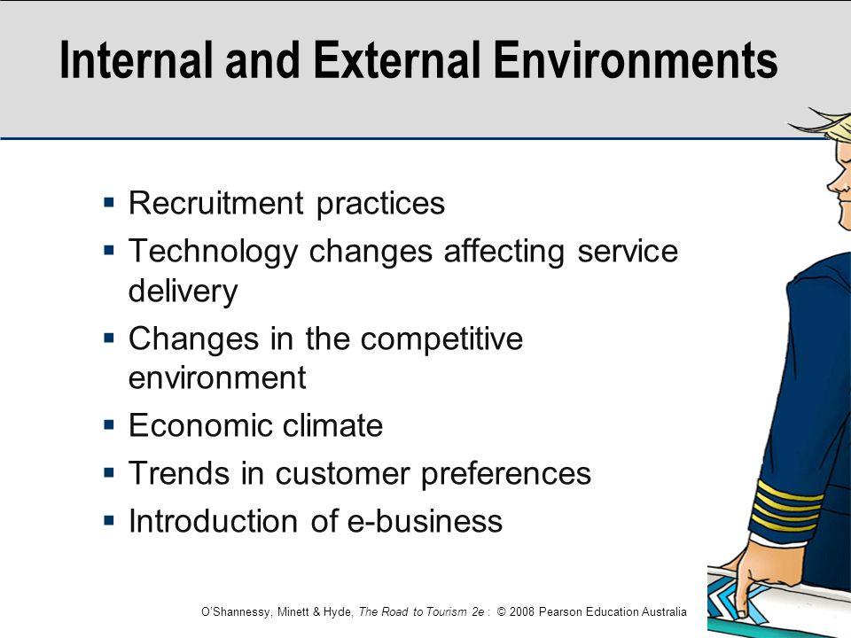 Internal and External Environments