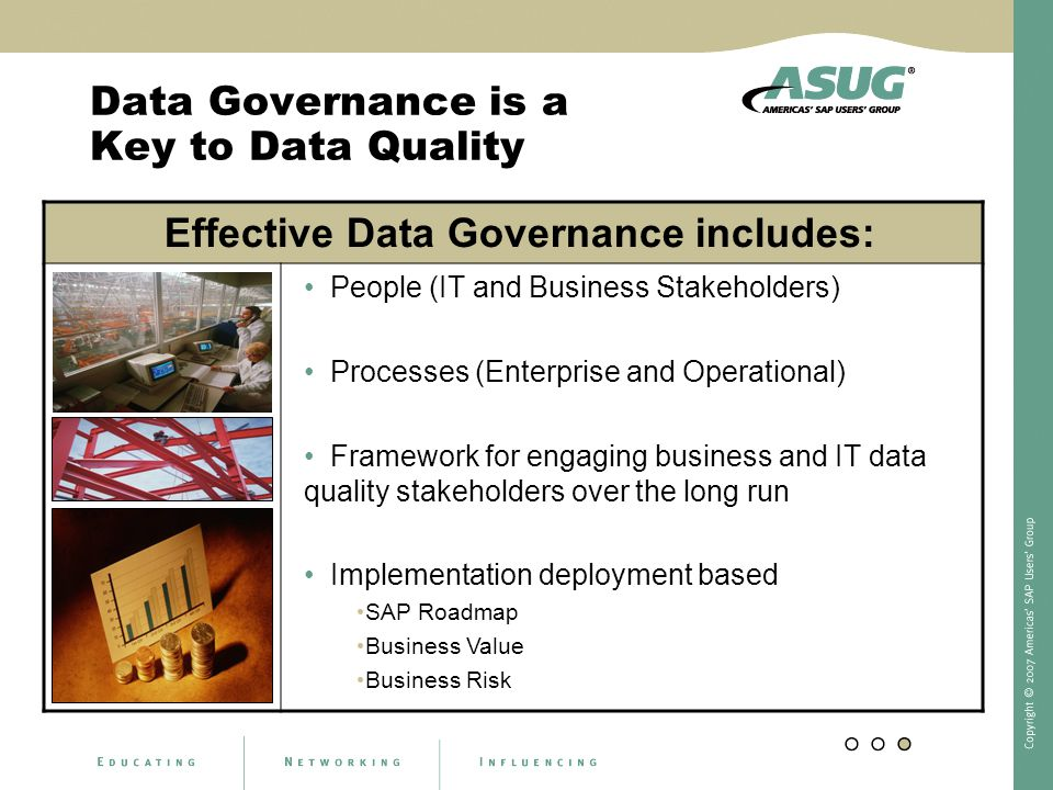 Data Governance is a Key to Data Quality