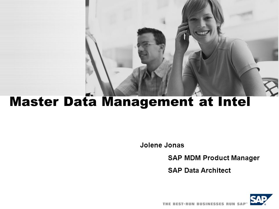 Master Data Management at Intel