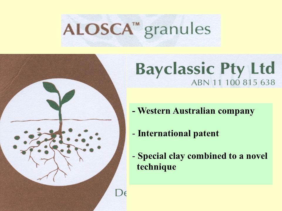 - Western Australian company