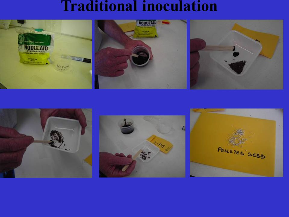 Traditional inoculation