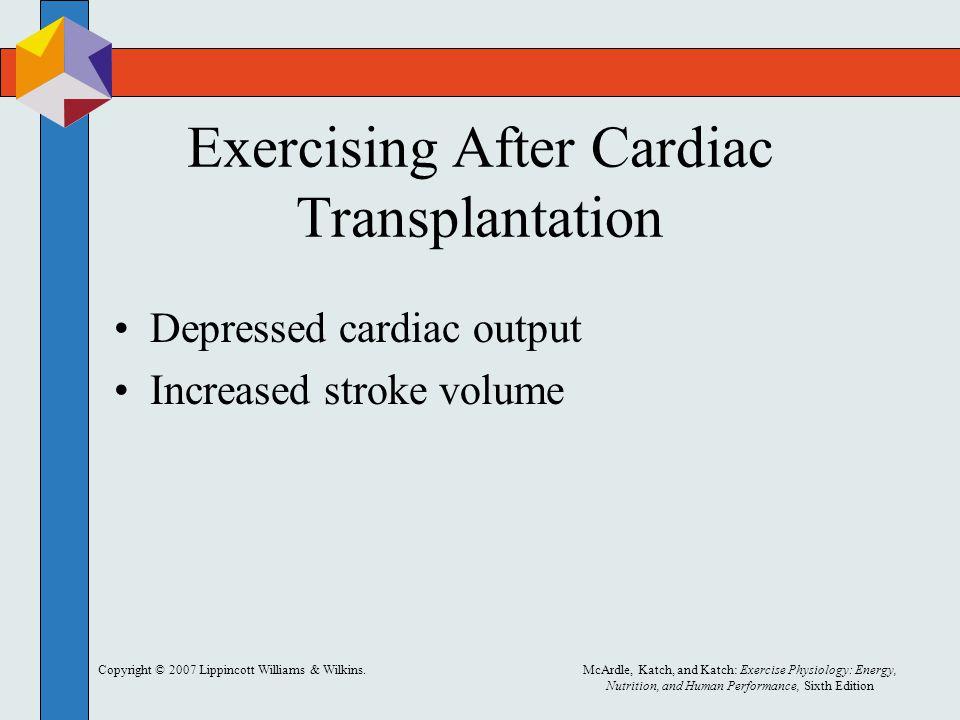 Exercising After Cardiac Transplantation