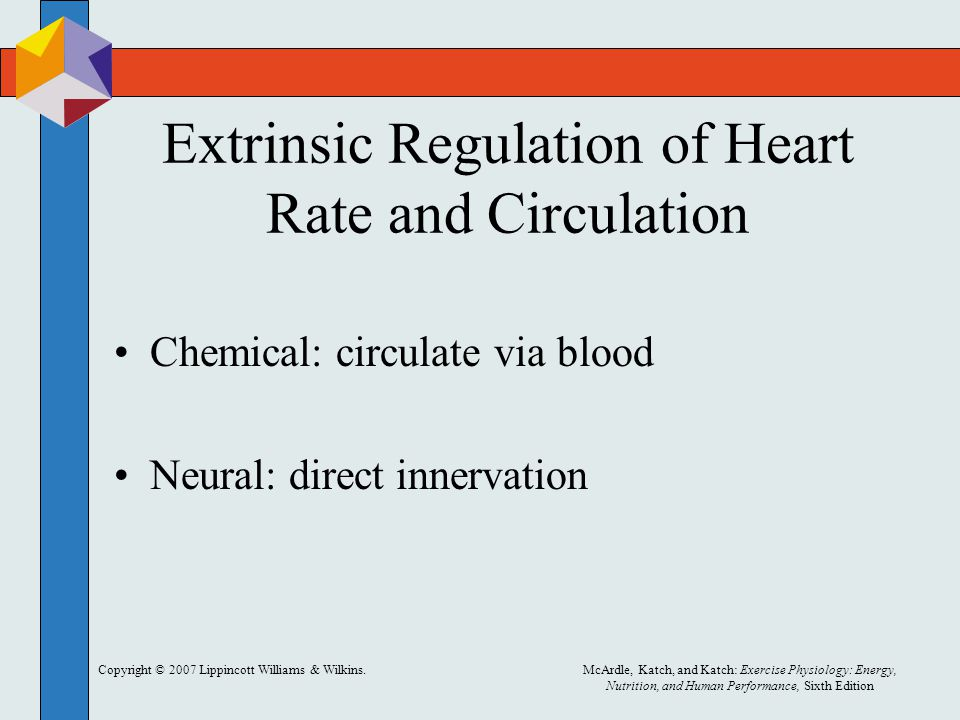 Extrinsic Regulation of Heart Rate and Circulation