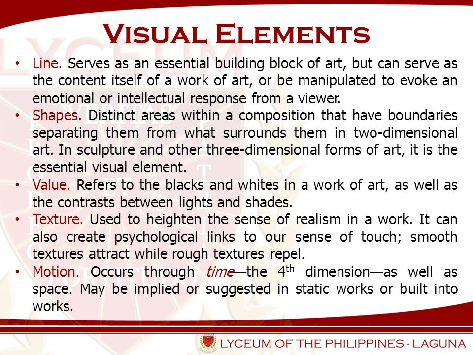 Illustrate The Element Line In Visual Art : Introduction what is art history ppt video online download