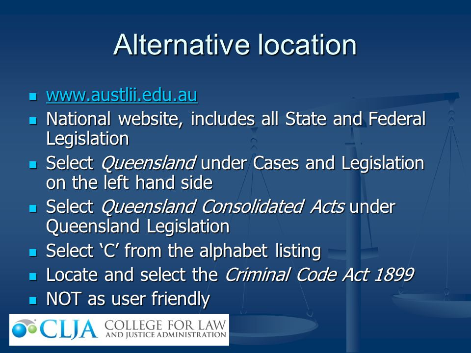 Alternative location www.austlii.edu.au