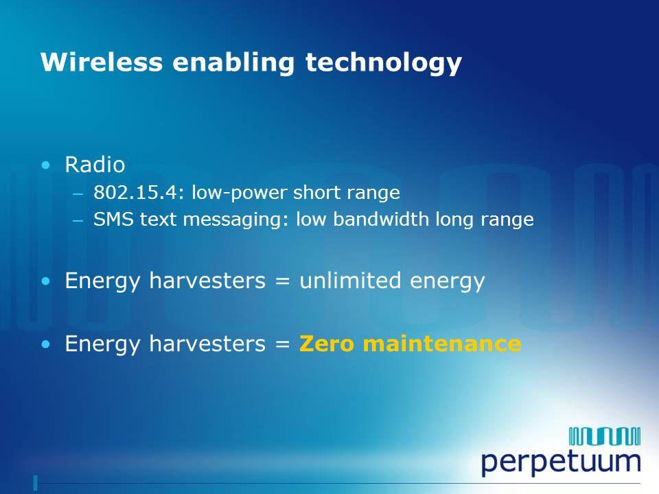 Wireless enabling technology
