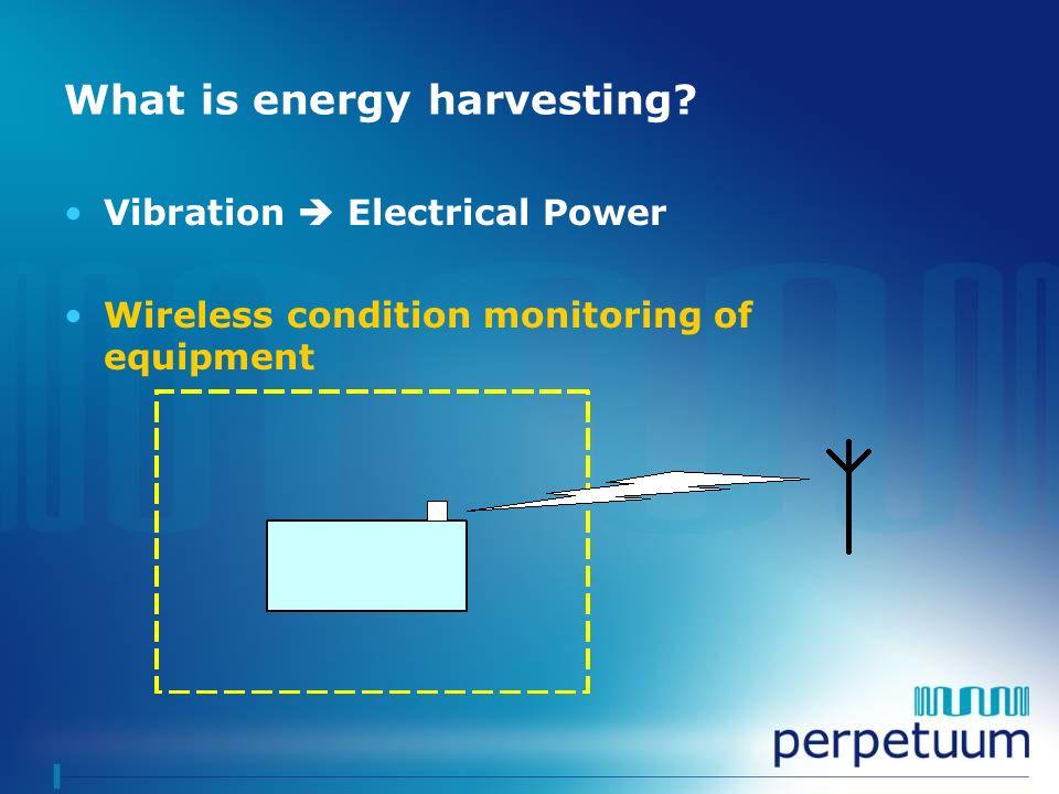 What is energy harvesting