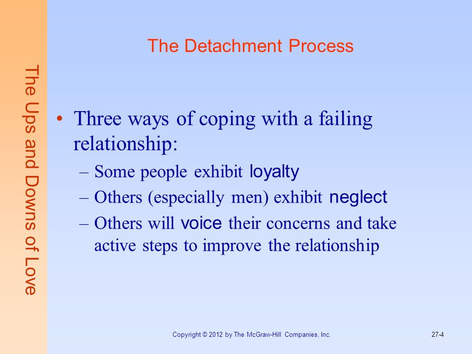 The Detachment Process