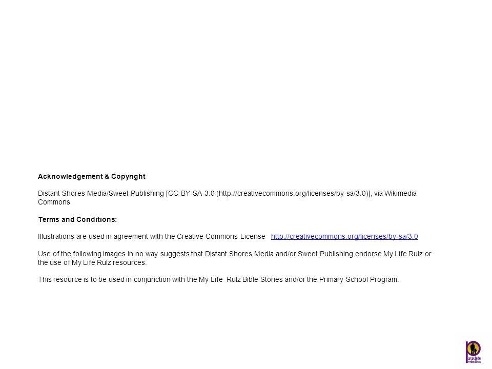 Acknowledgement & Copyright