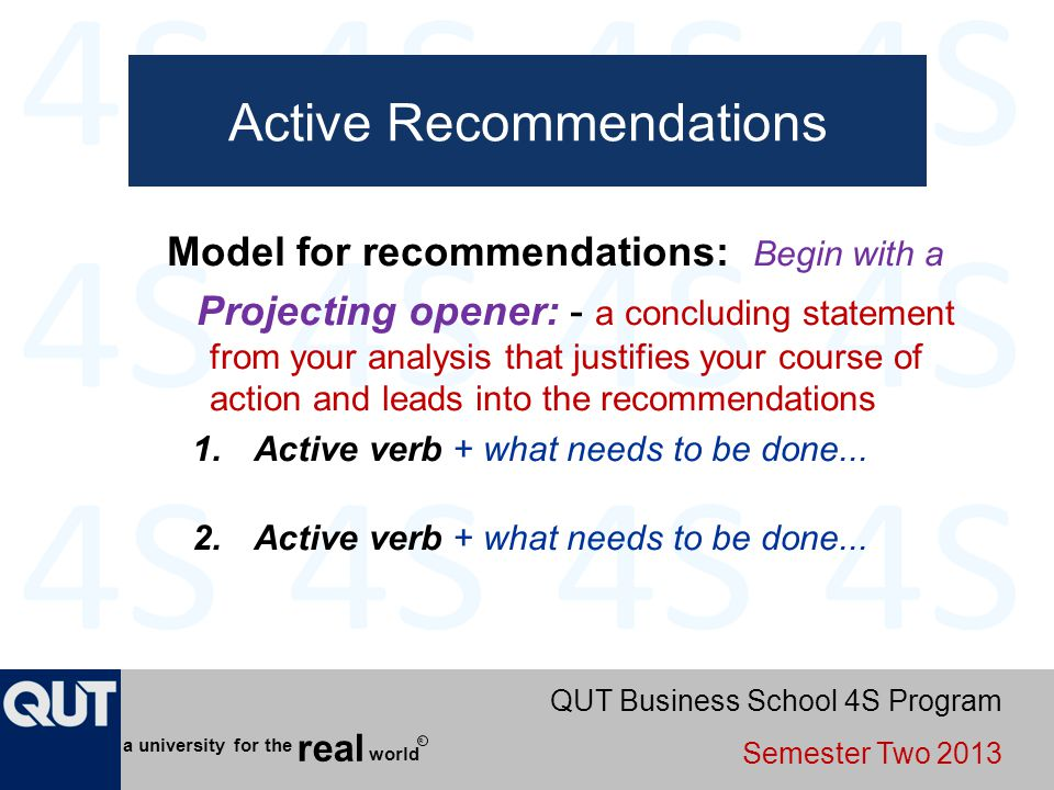 Active Recommendations
