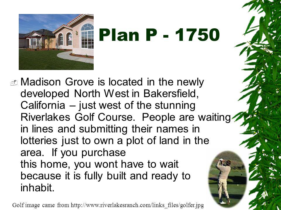 Plan P - 1750