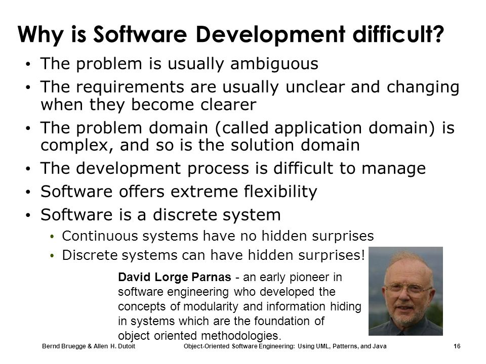 Why is Software Development difficult