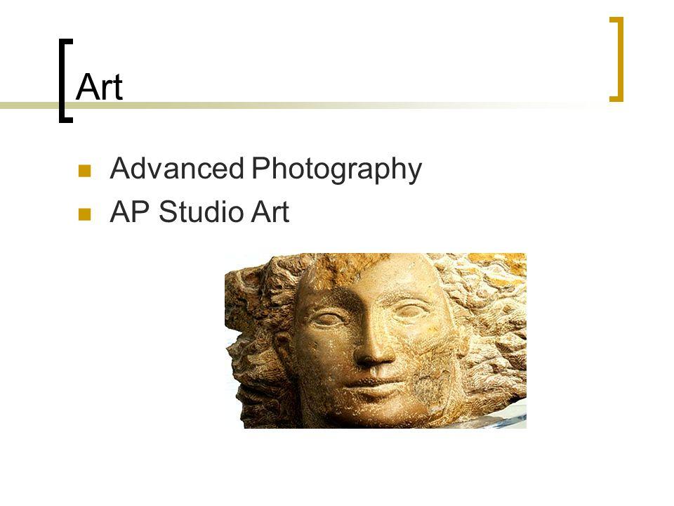 Art Advanced Photography AP Studio Art